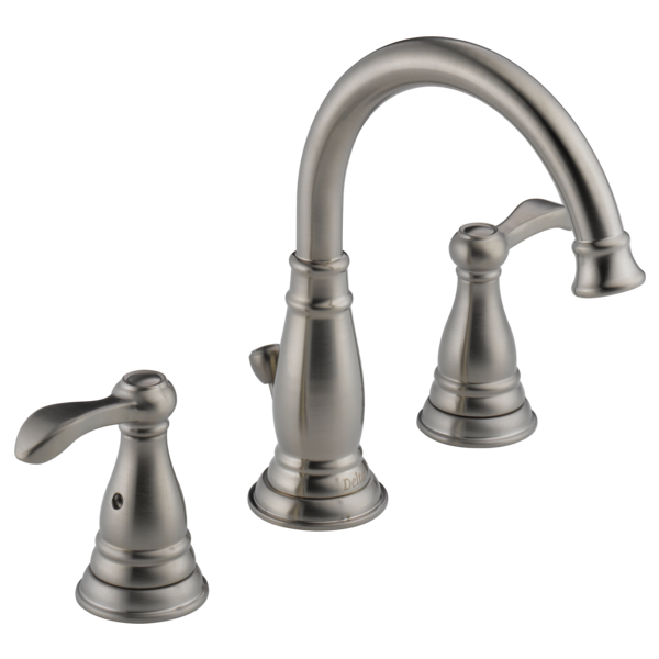 Two Handle Widespread Bathroom Faucet 35984LF-BN-ECO | Delta Faucet