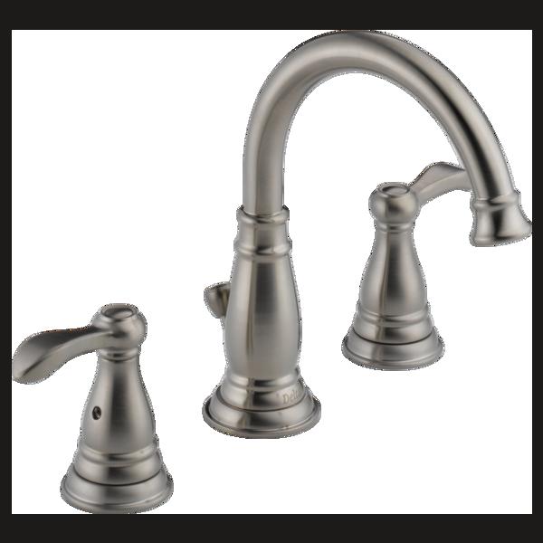 Two Handle Widespread Bathroom Faucet (Recertified)
