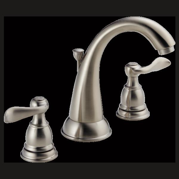 Two Handle Widespread Lavatory Faucet 35996LF-BN | Delta Faucet