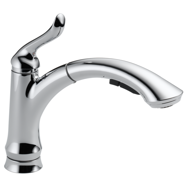 Single Handle Pull Out Kitchen Faucet 4353 Dst Delta Faucet