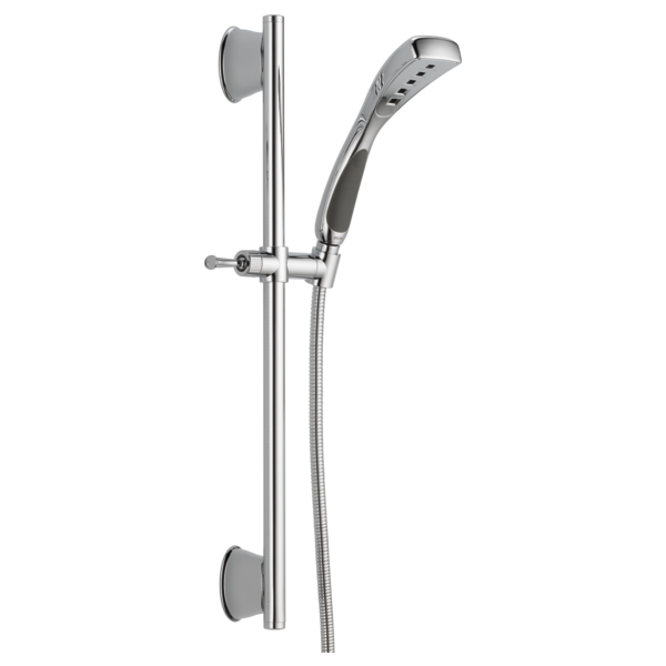 H2Okinetic<sup>&reg;</sup> Single-Setting Slide Bar Hand Shower
