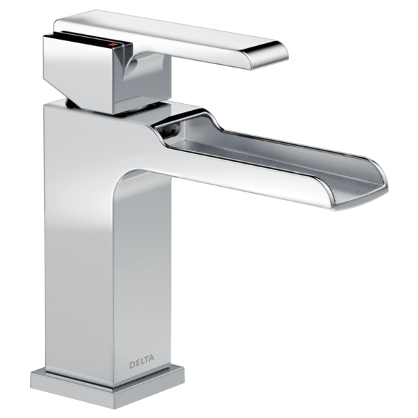 Single Handle Channel Bathroom Faucet LFMPU Delta Faucet - Delta bathroom faucet installation instructions