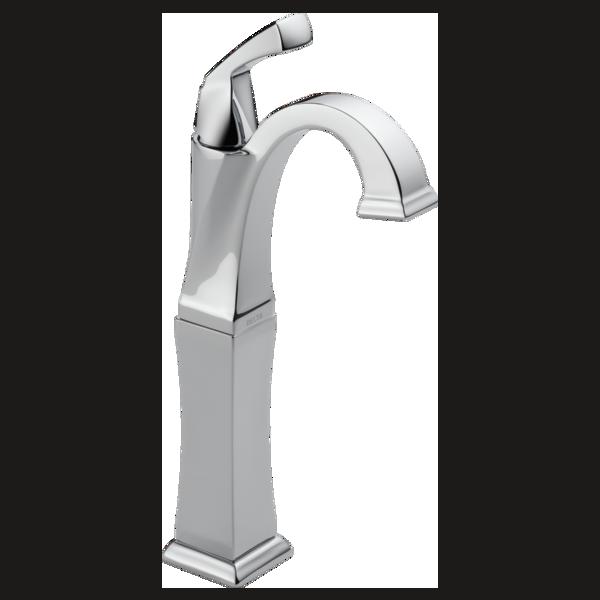 Single Handle Vessel Bathroom Faucet 751 Dst Delta Faucet