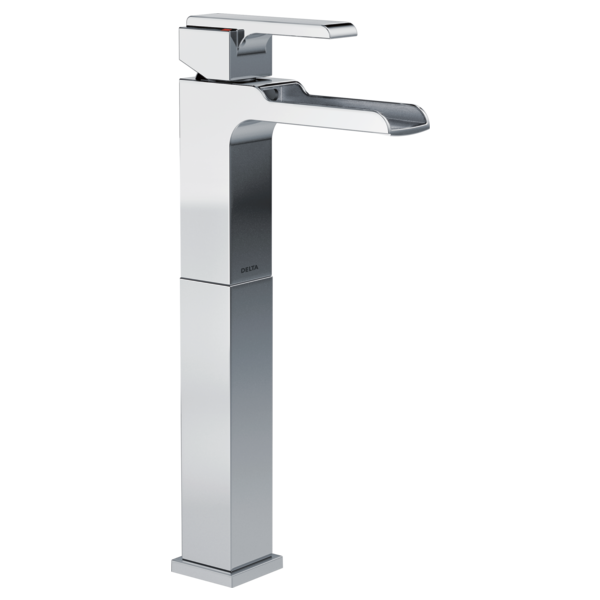 Merveilleux Single Handle Vessel Channel Bathroom Faucet