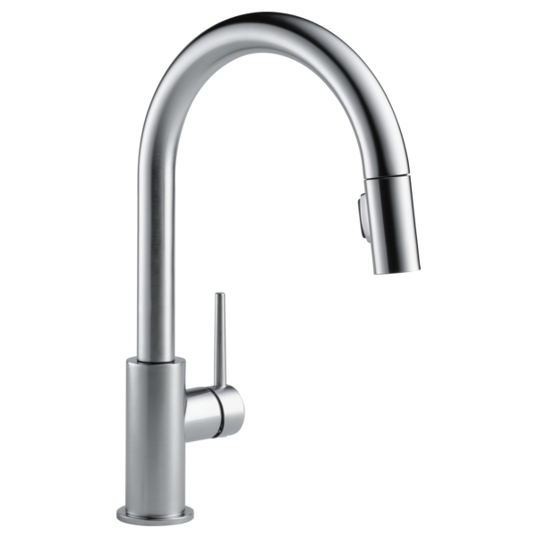 Single Handle Pull Down Kitchen Faucet 9159 Ar Dst Delta Faucet