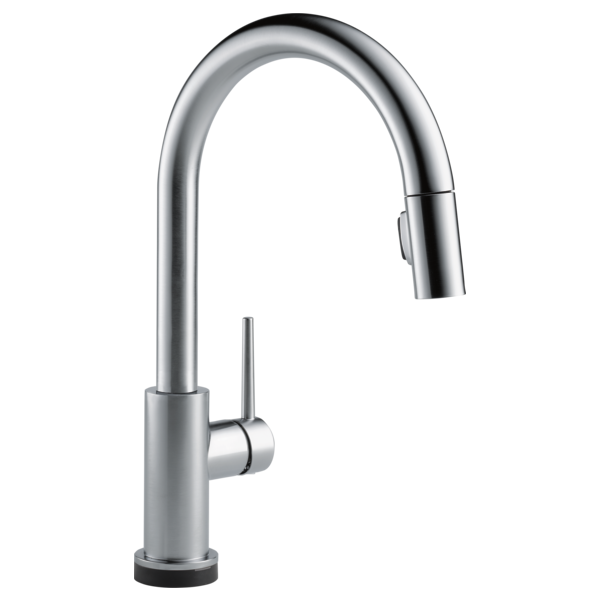single handle pull down kitchen faucet with voice and touch2o technology - Amazon Kitchen Faucets