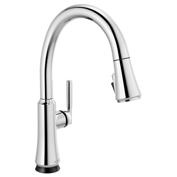 Single Handle Pull Down Kitchen Faucet With Touch2o Technology 9179t Dst Delta Faucet