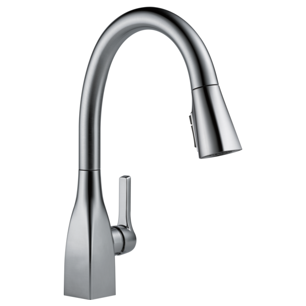 DELTA 9183-AR-DST MATEO ARCTIC STAINLESS PULL DOWN KITCHEN FAUCET MC351506