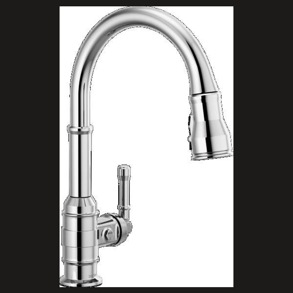 Single Handle Pull Down Kitchen Faucet 9190 Dst Delta Faucet