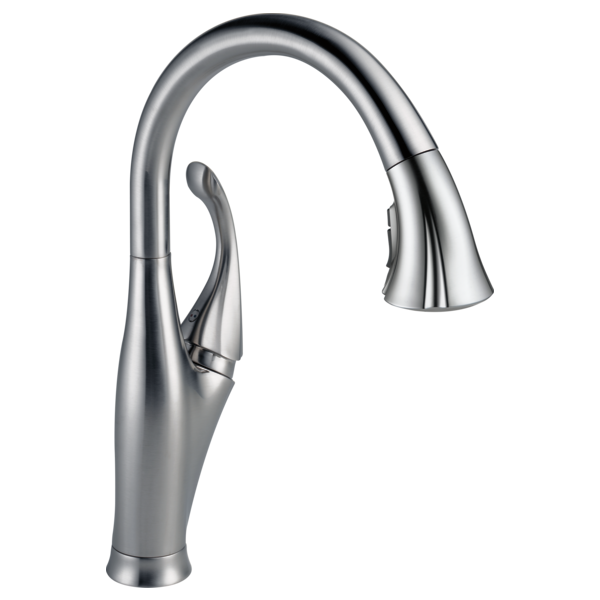 DELTA 9192-AR-DST ADDISON ARTIC STAINLESS PULL DOWN FAUCET MC316815