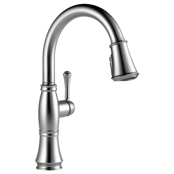 DELTA 9197-AR-DST CASSIDY SINGLE HANDLE PULL-DOWN KITCHEN FAUCET ARCTIC STAINLESS MC315236