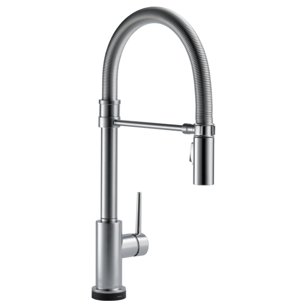 Single Handle Pull Down Spring Spout Kitchen Faucet With Touch2o