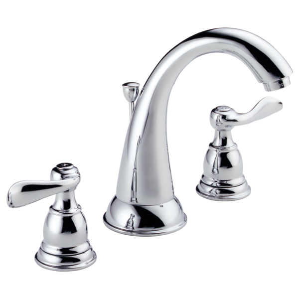 Two Handle Widespread Bathroom Faucet B3596lf Delta Faucet