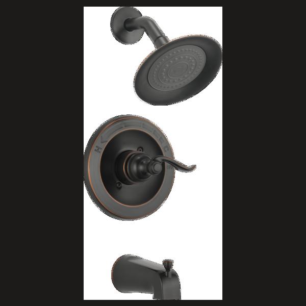 bt14496 ob monitor 14 series tub shower trim. Black Bedroom Furniture Sets. Home Design Ideas