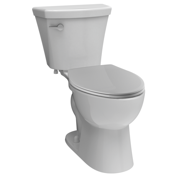 Elongated Toilet C43908 Wh Delta Faucet