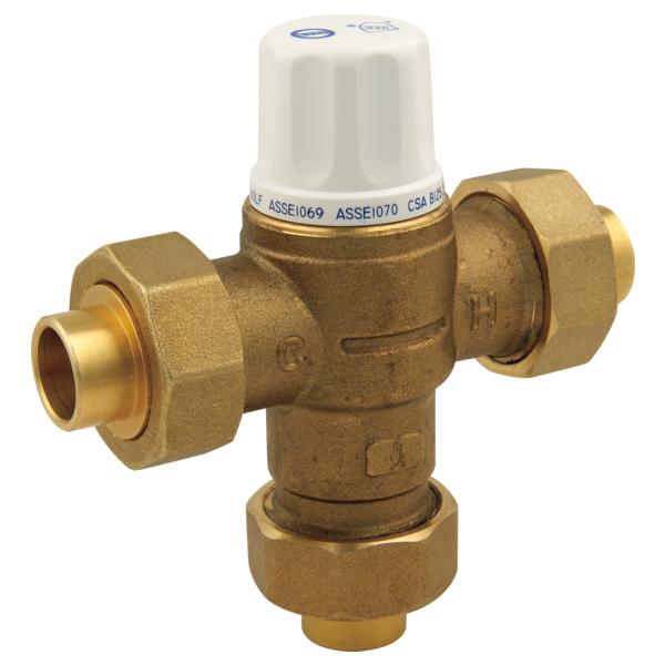 Industrial Thermostatic Mixing Valve: Thermostatic Mixing Valve R2570-MIXLF