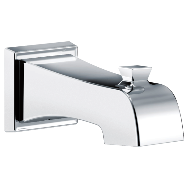 spout delta depot p en canada tub home chrome diverter the