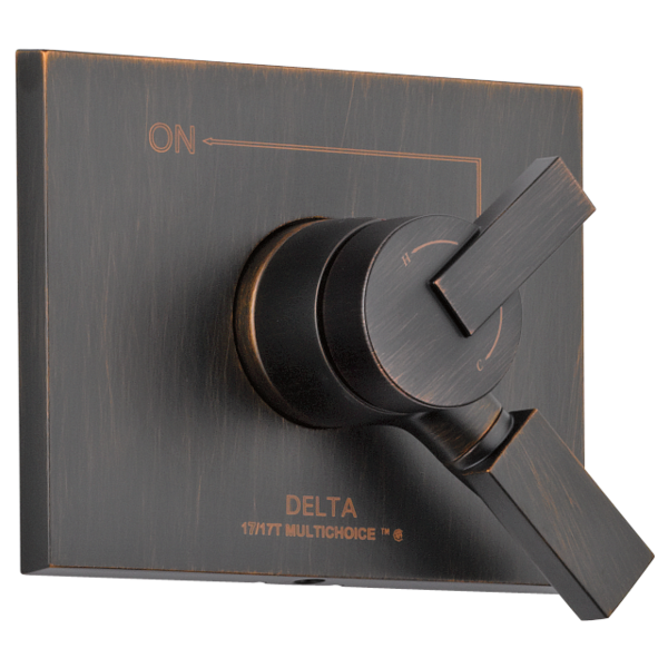 DELTA® T17053-RB Monitor® 17 Valve Trim, 2.5 gpm Shower, Venetian Bronze