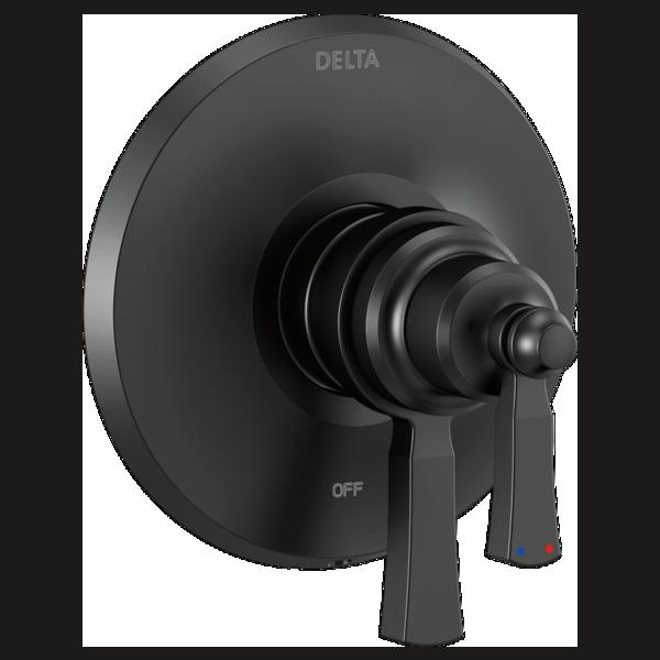 DELTA® T17056-BL Monitor® 17 Valve Trim Only, 6.2 gpm Valve, Matte Black