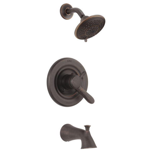 DELTA T17438-RB VENETIAN BRONZE LAHARA MONITOR 17 SERIES TUB/SHOWER TRIM ONLY INCLUDES HANDLE