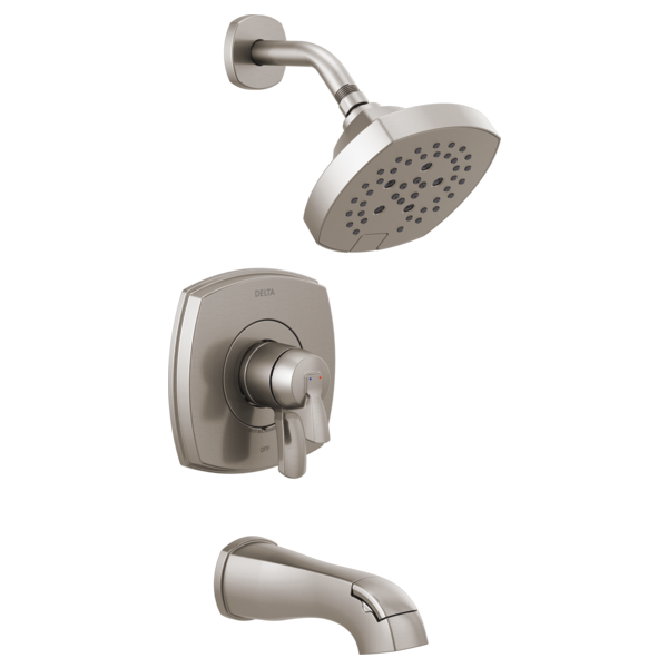 DELTA® T17476-SS 17 Series Volume Control Tub and Shower Only, 1.75 gpm Shower, Brilliance® Stainless Steel