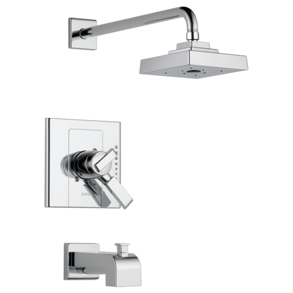 Monitor® 17 Series H2Okinetic® Tub and Shower Trim T17486 | Delta Faucet