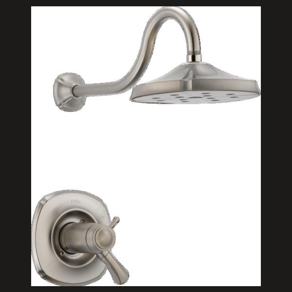 TempAssure® 17T Series H2Okinetic® Shower Trim T17T292-SS | Delta ...