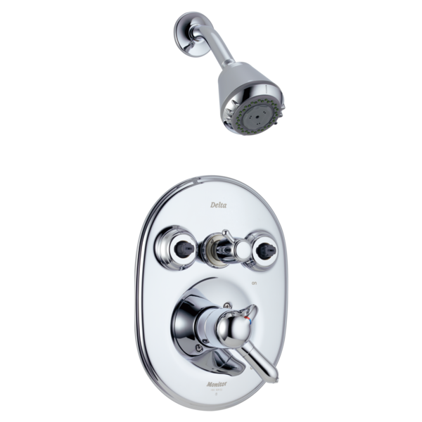 1800 Jetted Shower Trim T1824 Mc Delta Faucet