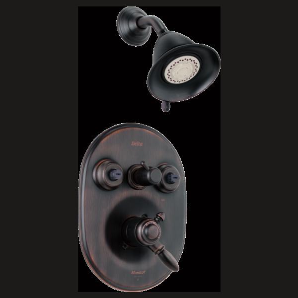 Delta Bathroom Faucet Parts >> Monitor® 18 Series XO Jetted Shower™ Trim T18255-RBXO   Delta Faucet