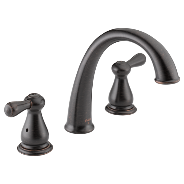 Delta Bathroom Faucet Repair Two Handle >> Roman Tub Trim T2775-RB | Delta Faucet