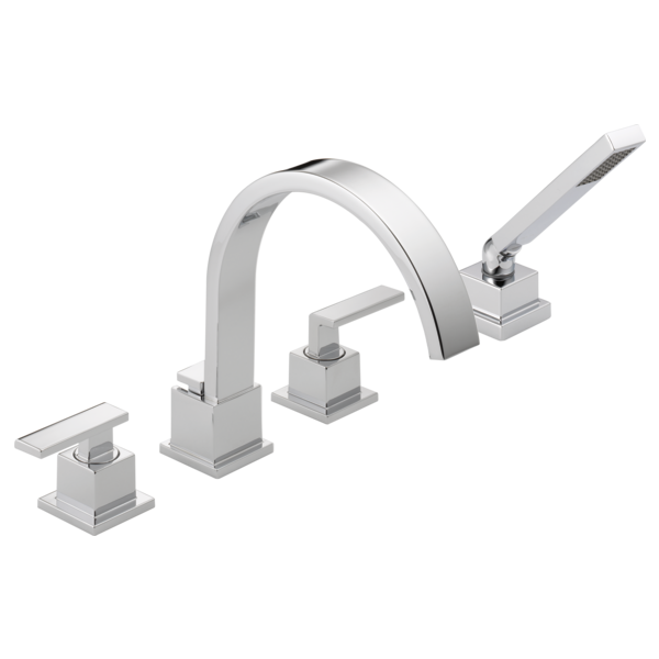 roman tub faucet canada.  T4753 Roman Tub Trim with Hand Shower