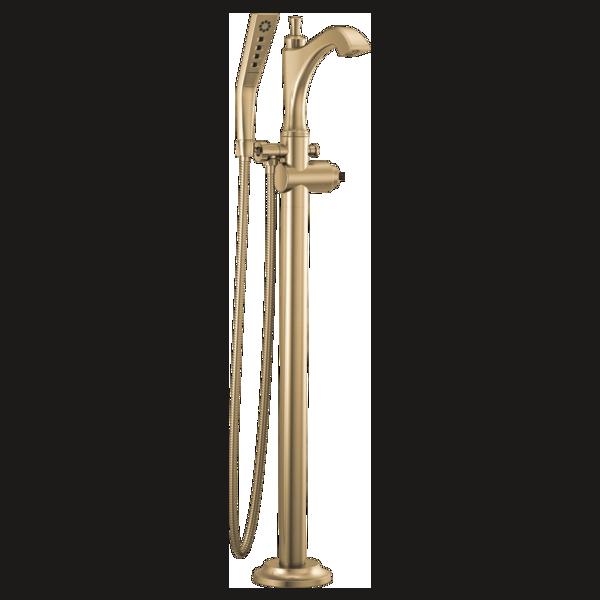 DELTA® T4756-CZLHP-FL Dorval™ Tub Filler Trim, Champagne Bronze, Domestic, Commercial/Residential