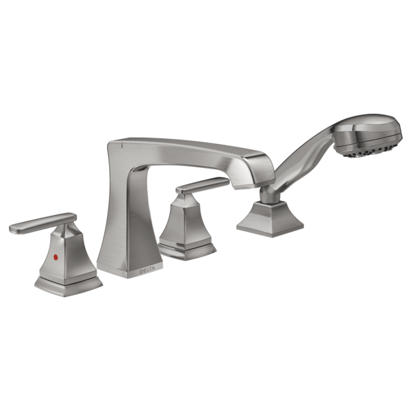 Roman Tub With Hand Shower Trim T4764 Ss Delta Faucet