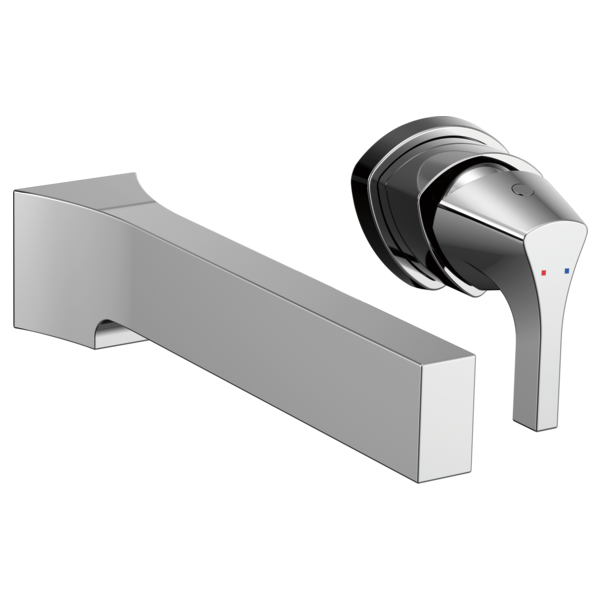 Single Handle Wall Mount Bathroom Faucet Trim T574LF-WL | Delta Faucet