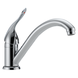 101LF-HDF Single Handle Centerset Kitchen Faucet (Valve and Shower Head Sold Separately)