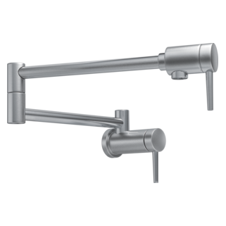 Delta 1165LF-AR  Contemporary Wall Mount Pot Filler, Arctic Stainless
