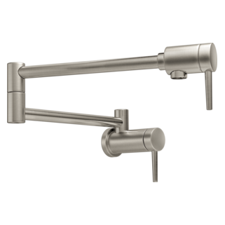 Delta 1165LF-SS  Contemporary Wall Mount Pot Filler, Stainless
