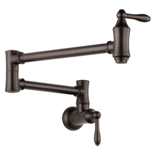 Delta 1177LF-RB  Traditional Wall Mount Pot Filler, Venetian Bronze