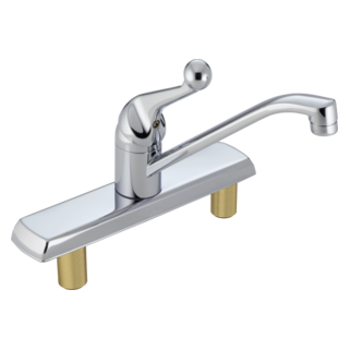 120LF Single Handle Kitchen Faucet (Valve and Shower Head Sold Separately)