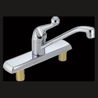 Delta 120LF - Delta Classic: Single Handle Kitchen Faucet