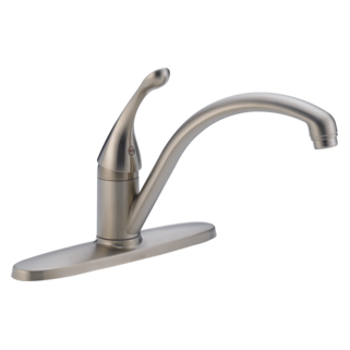 140-SSWE-DST Single Handle Water Efficient Kitchen Faucet (Valve and Shower Head Sold Separately)