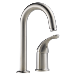 1903-SS-DST Single Handle Bar / Prep Faucet (Valve and Shower Head Sold Separately)