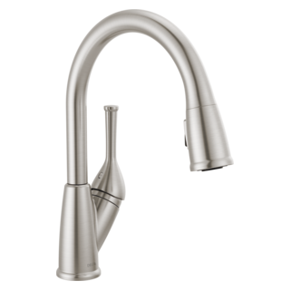 Gooseneck Kitchen Faucets High Arc Tall Kitchen Faucets Delta Faucet