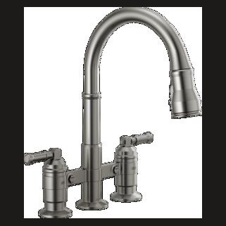 Two Handle Kitchen Faucets Delta Faucet