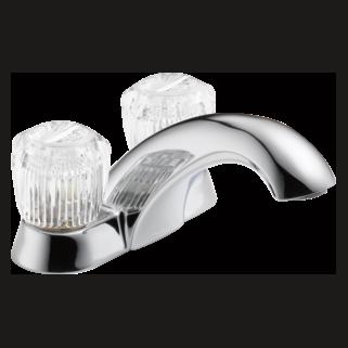 2502LF Two Handle Centerset Lavatory Faucet - Less Pop-Up