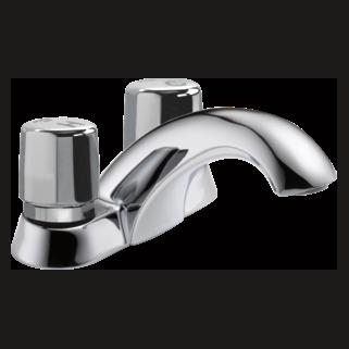 2507LF-HDF Two Handle Self-Closing Faucet