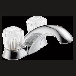 Delta 2512LF - Delta Classic: Two Handle Centerset Lavatory Faucet - Less Pop-Up