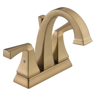 Delta 2551-CZMPU-DST - Delta Dryden: Two Handle Centerset Lavatory Faucet, With Pop-Up - Champagne Bronze