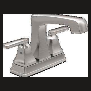 2564-SSMPU-DST Two Handle Centerset Lavatory Faucet