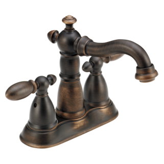 Victorian Two Handle Centerset Bathroom Faucet